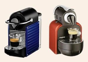 Coffee capsules nespresso